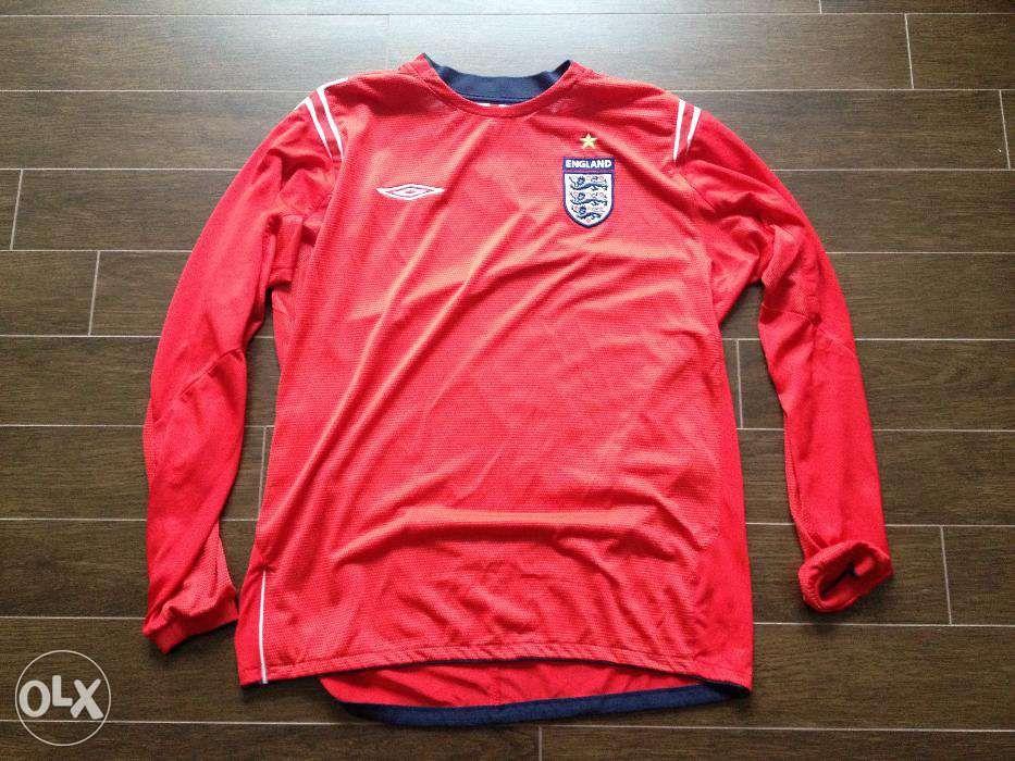 Camisola de Futebol da Seleção Inglesa - Inglaterra 2004 174f0012b2f36