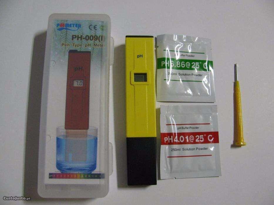 Medidor digital de pH para aquários, piscinas