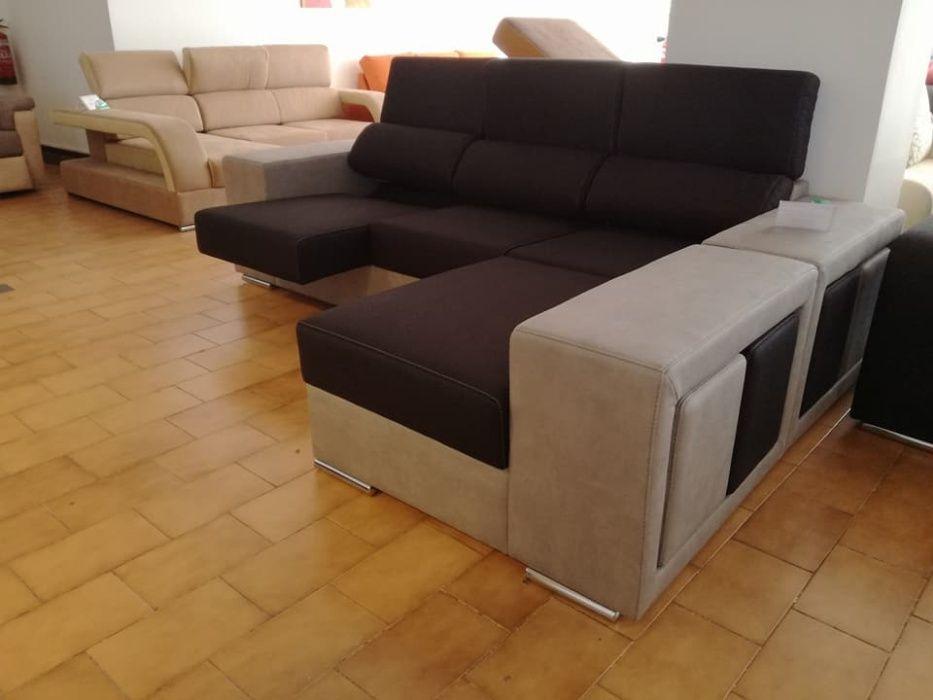 Sofá Córdoba novo de fabrica com chaise longue reversível