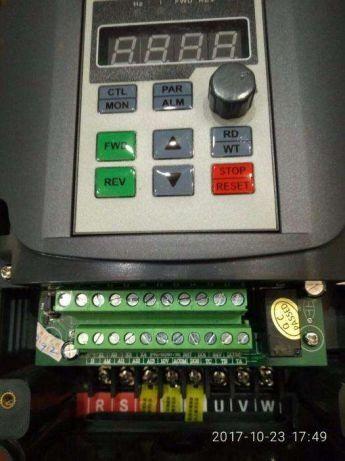 Векторный частотный преобразователь 220В 2,2кВт НОВЫЙ частотник