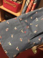 Koszula RESERVED M niebieska narty snowboard deska nadruk  tqP3s