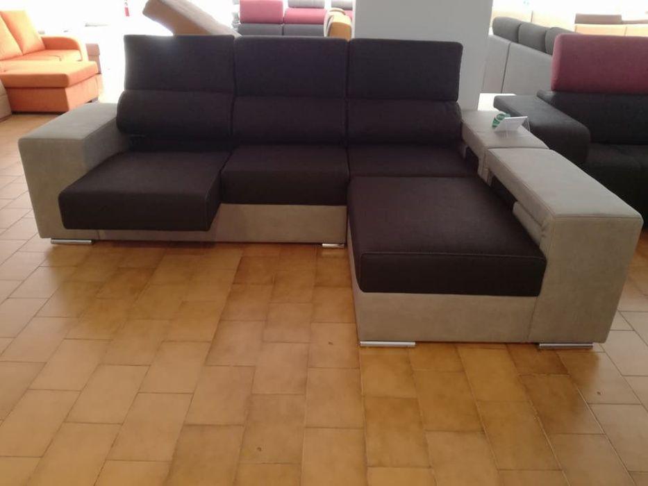 Chaise Córdoba novo de fabrica com chaise longue reversível Malveira E São Miguel De Alcainça - imagem 2