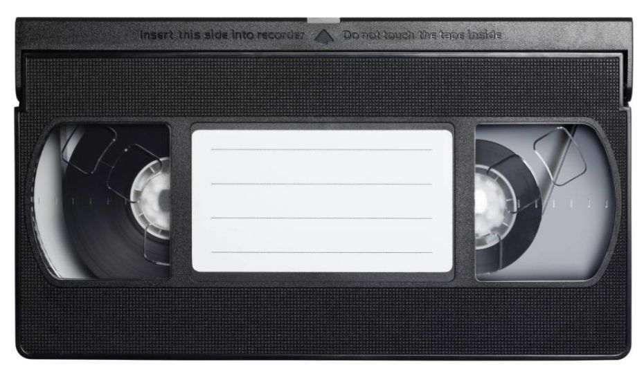 Cassetes vídeo para DVD - Salve as suas memórias!