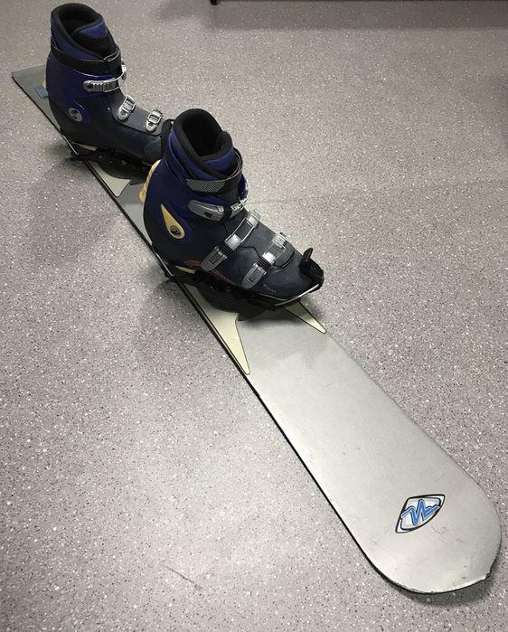 Dwarda Deska Snowboardowa Nidecker Extreme 172 Cm I Buty Elk Olx Pl