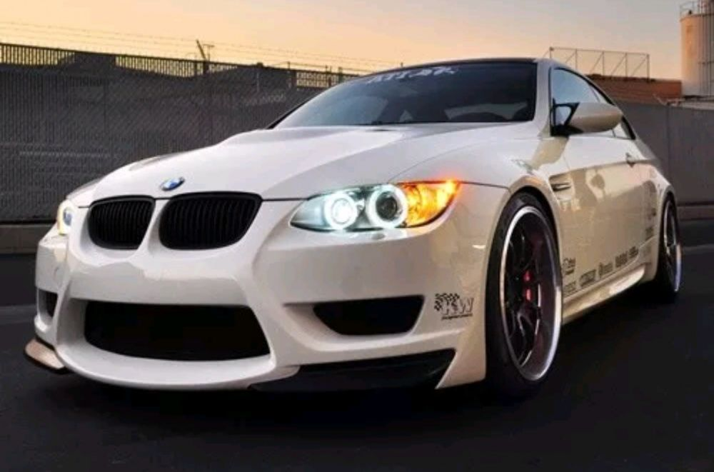 Lampadas Angel Eyes led para BMW E90 E91 E92 E93 E60 E82 E87 E39