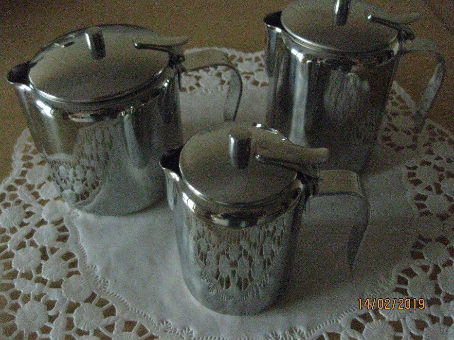 Conjunto de 3 utensilios Inox