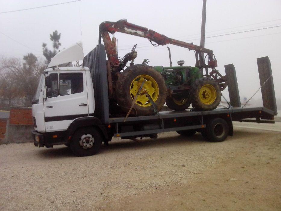 Transporte de tratores, alfaias agricolas e maquinas Coimbra - imagem 3