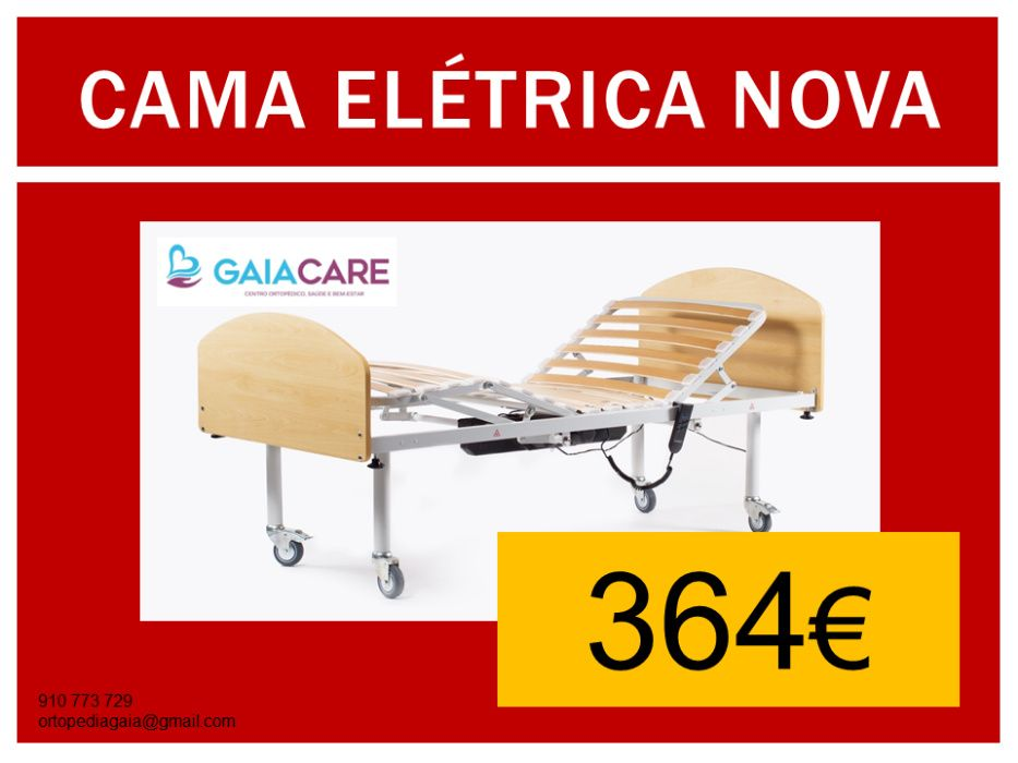 CAMA Articulada Elétrica Nova