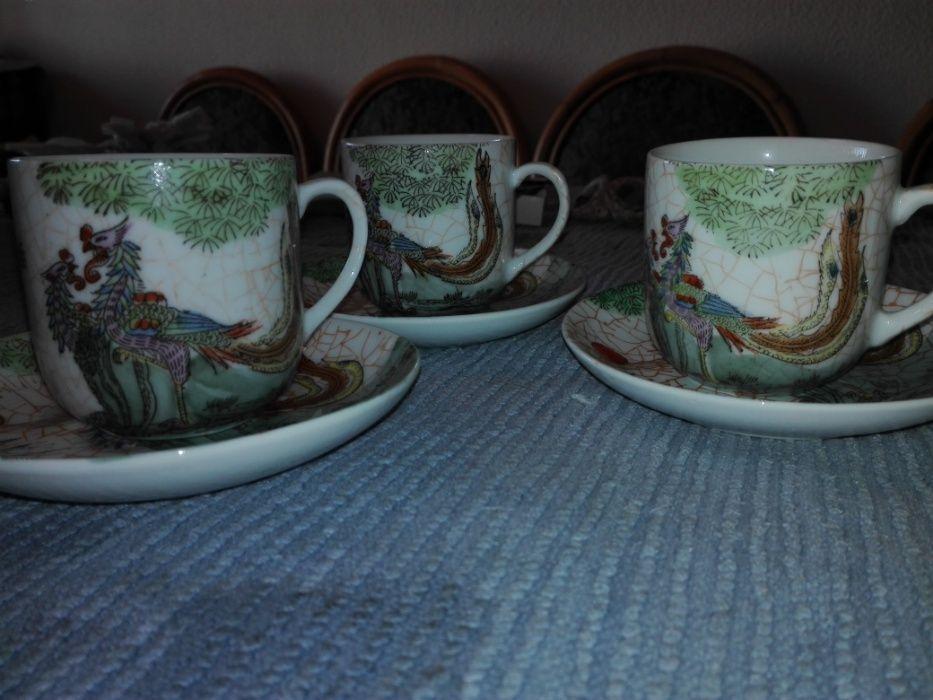 Chávenas café fabricadas em MACAU