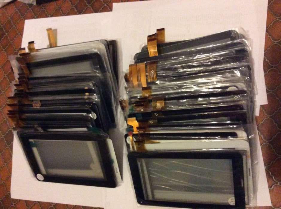 Lote de vidro Tatil / touch screen para Tablets