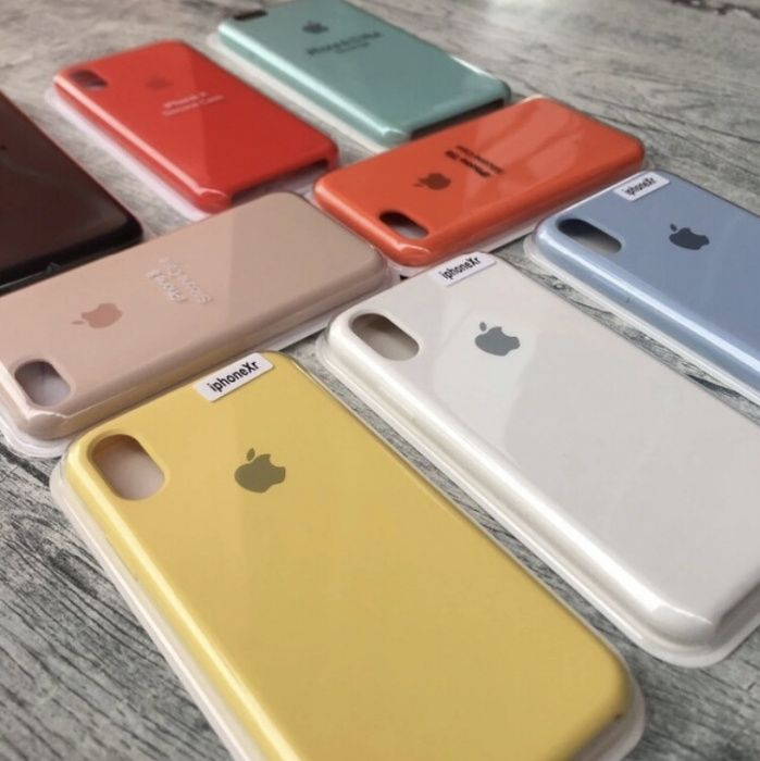 Capa Apple  Silicone IPhone 5S/SE/6/7/8/X/Xs/Xr e 6/7/8 plus XsMax