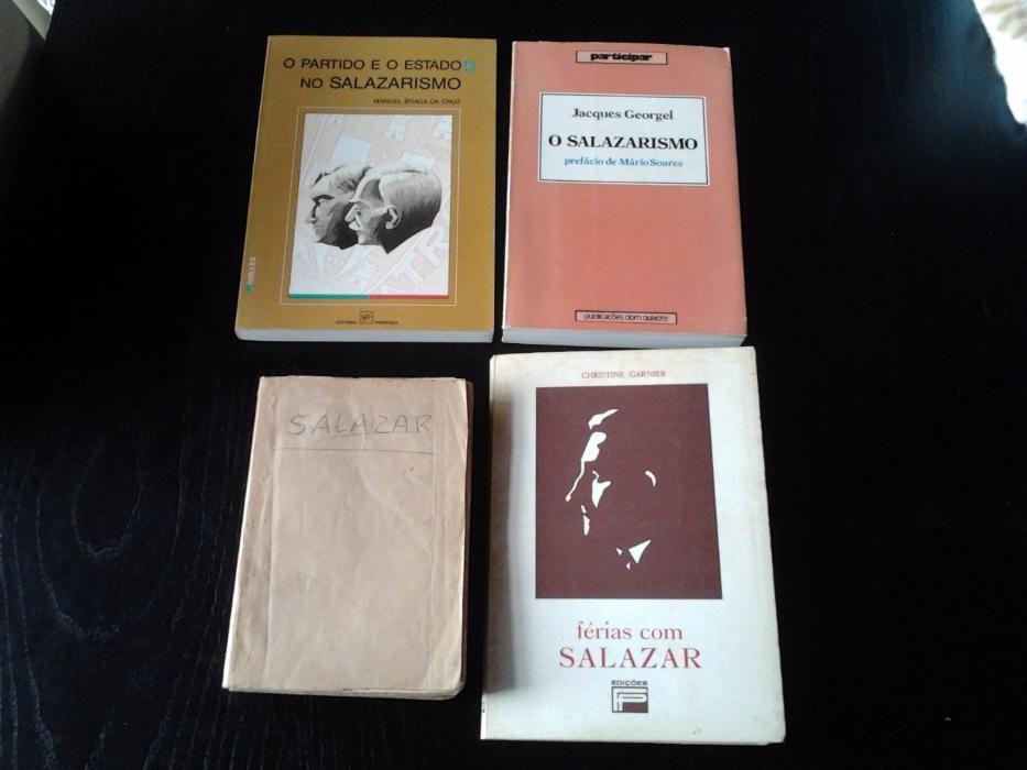 Salazar - Lote de 9 livros clássicos