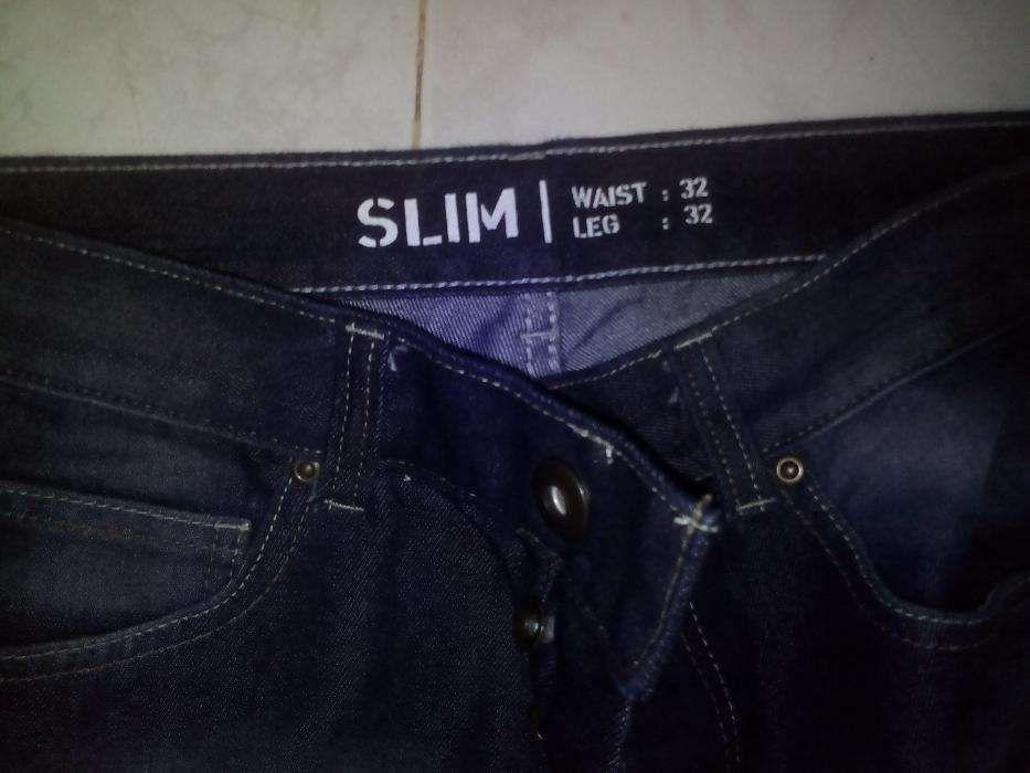 Calças de Ganga Slim