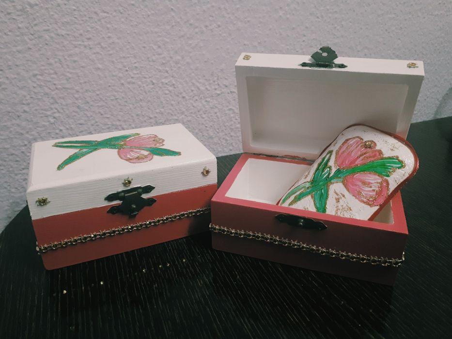 Caixas pintadas á mão(vendidas em conjunto ou individualmente)