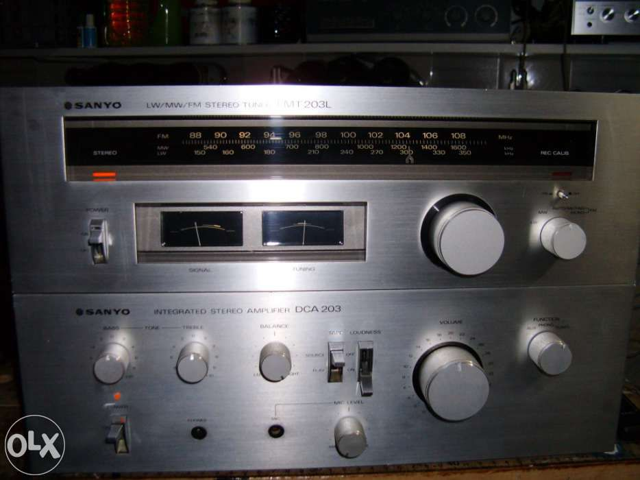 Amplificador + Tuner SANYO 203 SERIES