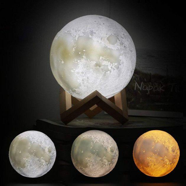 Настольный светильник Луна/лампа Magic 3D Moon Light: 199 грн. - Светильники  Одесса на Olx