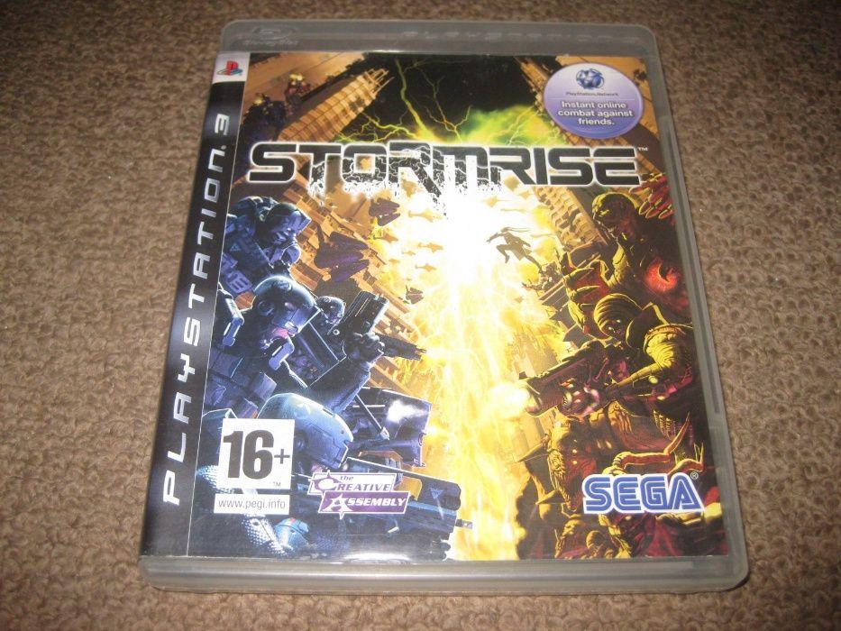 """Jogo """"Stormrise"""" para PS3/Completo!"""