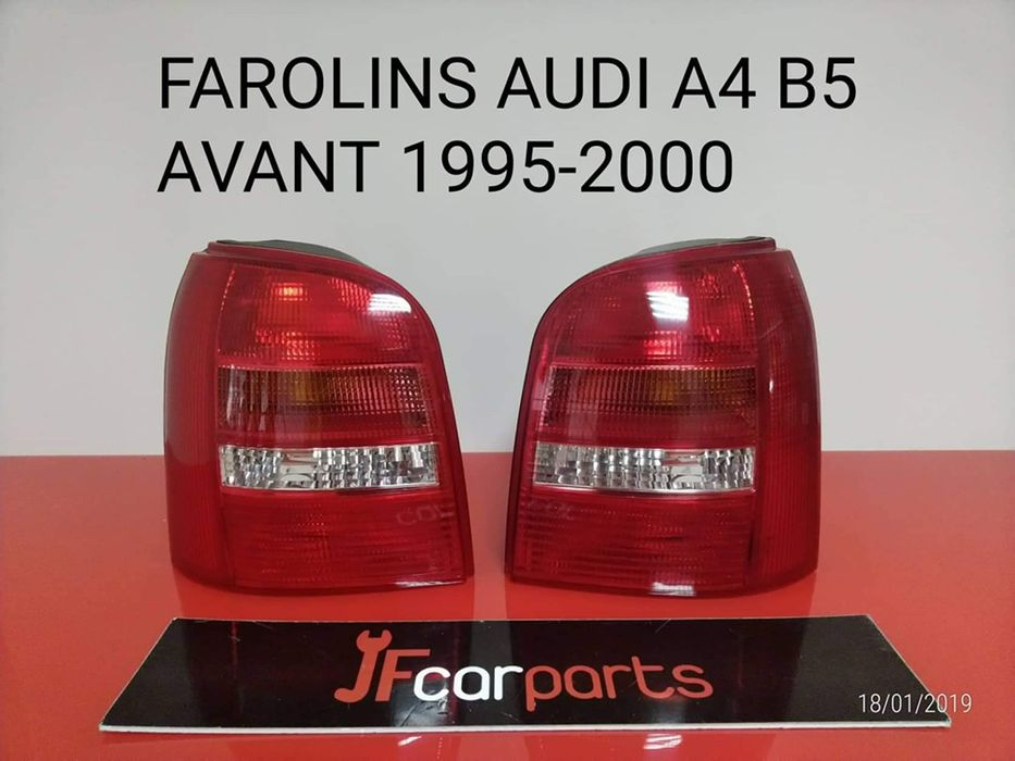 Farolins Audi A4 B5 Avant