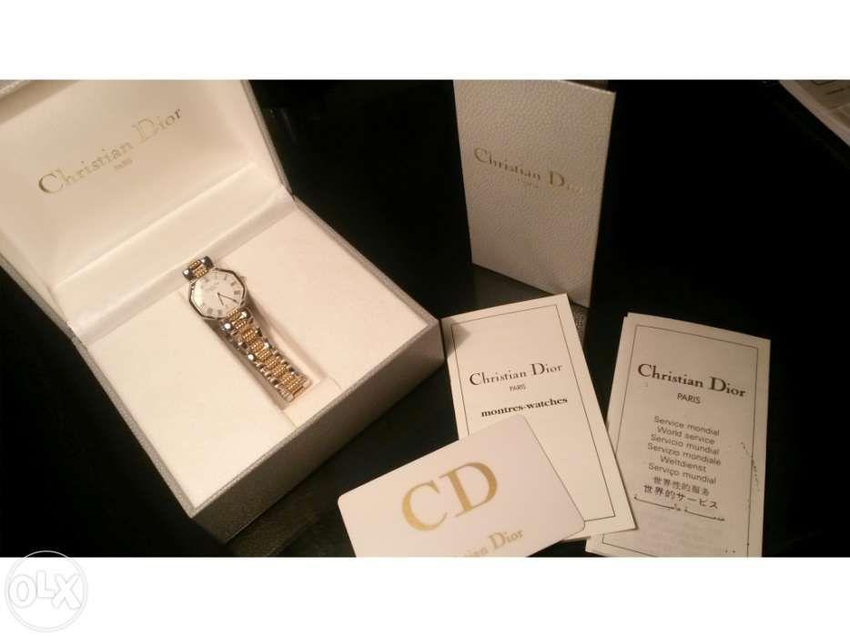 78930f1d4ac Relógio de Senhora Christian Dior Paris original novo na caixa Parque das  Nações • OLX Portugal