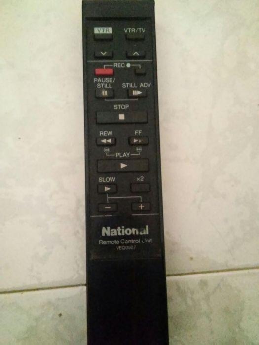 Comando video antigo National