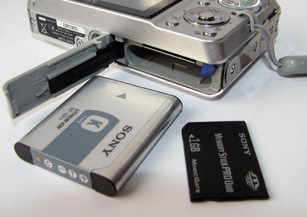 ツ Sony Cyber-shot DSC-S780 (cabos, cartão memória , bateria, carregado