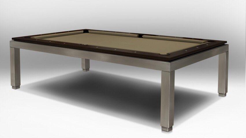 Bilhares europa fabricante Mod Império inox Novo opção tampo de mesa