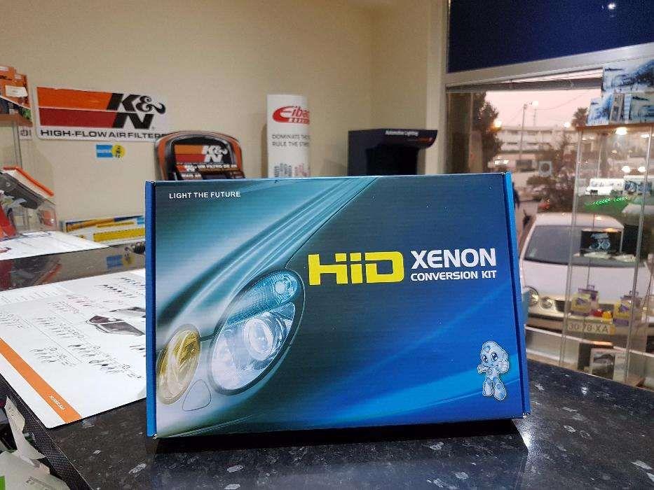 Kit xénon H1, H4, H7 com Garantia - Vários Modelos e Canbus sem erro