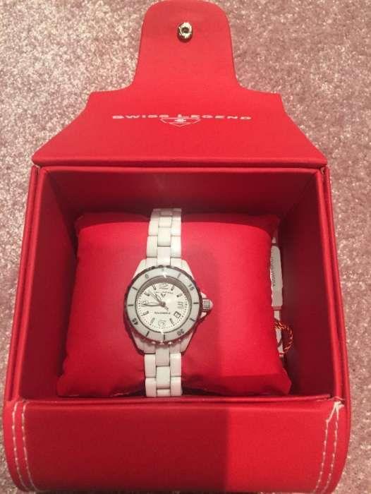 Relógio Swiss Legend original