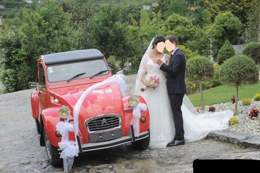 Aluguer de carro para casamentos e eventos - Citroen 2 cavalos
