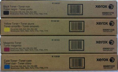 Toner Xerox 240 e 250 E 260 Todas as Cores