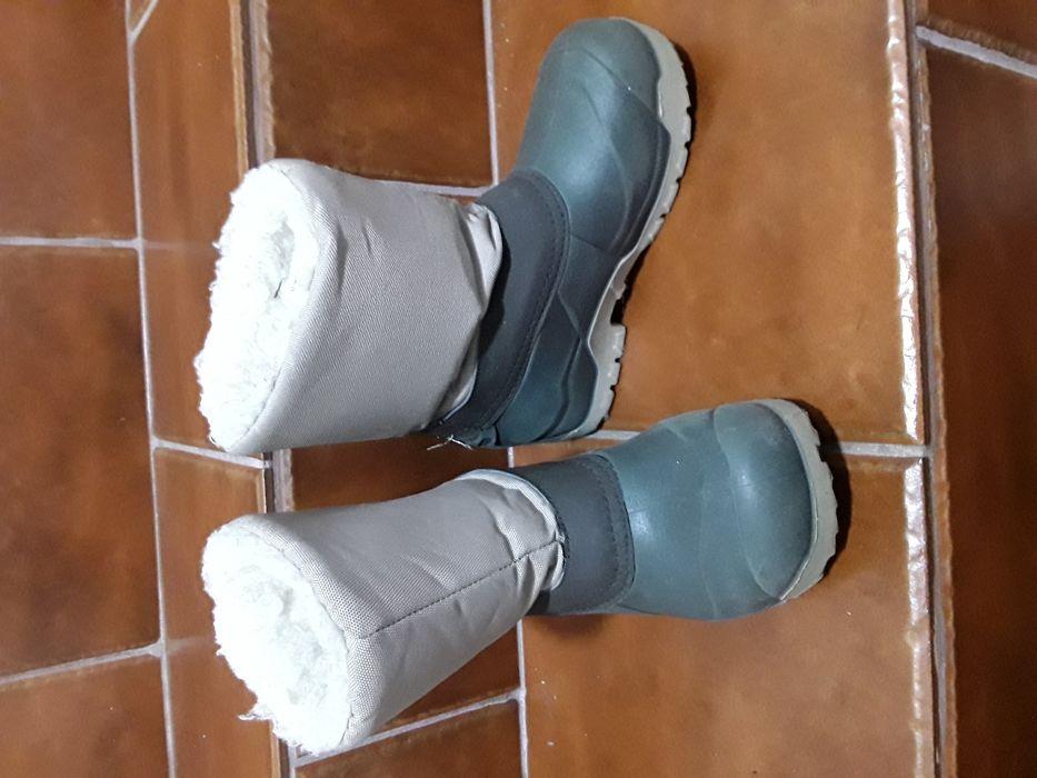 22ca83e2d Botas Quéchua impermeável - Caldas De São Jorge E Pigeiros - Botas Quéchua  impermeável usadas tamanho