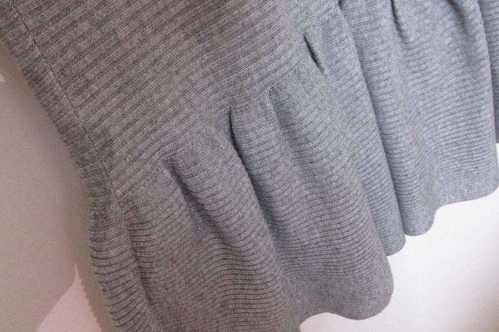 acbd726e54 Vestido malha cinzento Lanidor Alvalade • OLX Portugal
