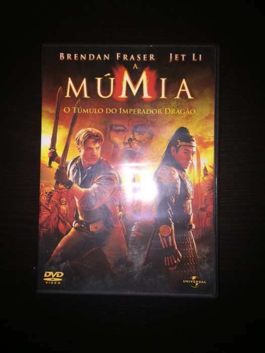 """DVD """"A múmia - O tumulo do imperador dragão"""""""