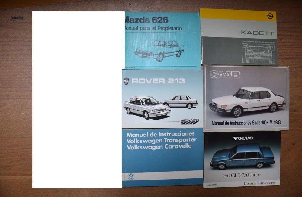 vw transporter vw caravele Manual do proprietário automóveis