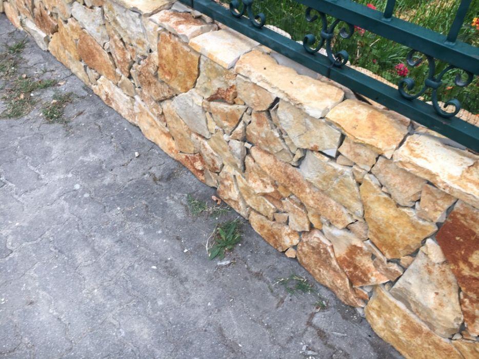 Pedra rústica serrada amarelo sol Benedita - imagem 7