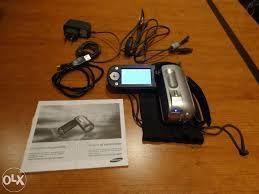 Máquina de Filmar (digital) - Samsung vp-mx10