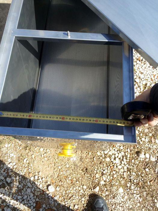 Tina inox desopercular 1000x450 mel apicultura já com Iva Arcos E Mogofores - imagem 3