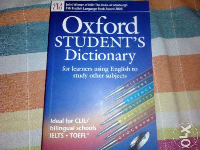 Dicionário Oxford Student´s Dictionary