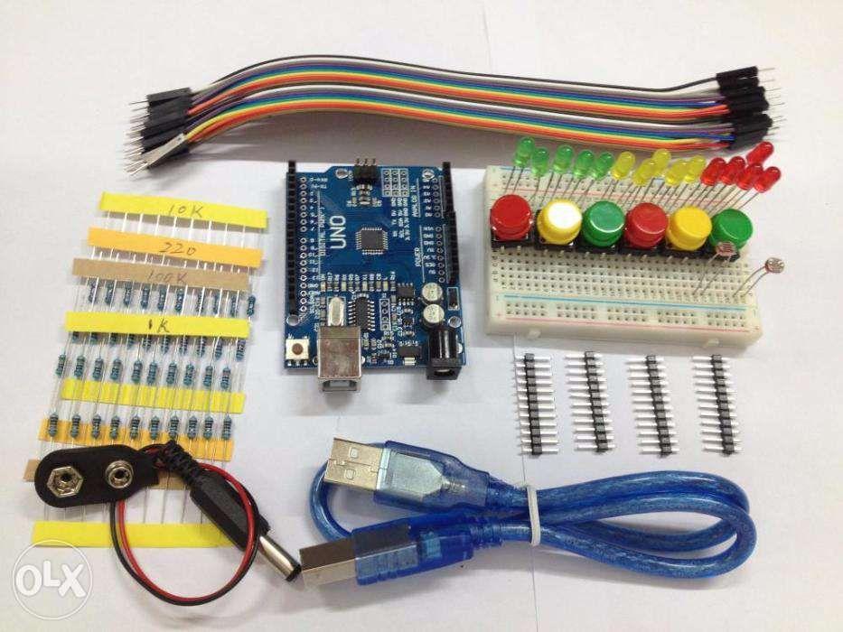 Kit UNO R3 arduino (NOVOS)