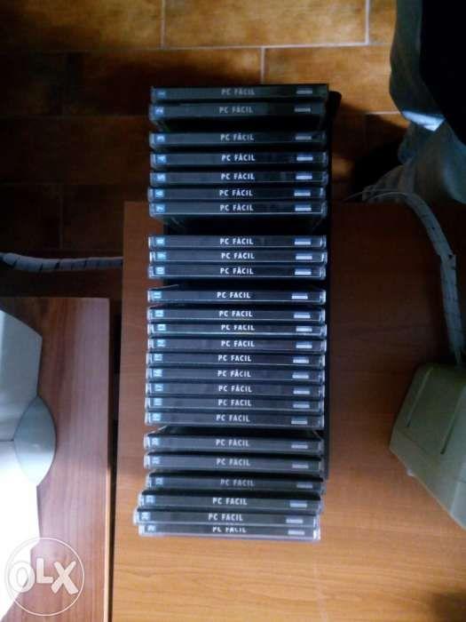 Pc Facil - colecção de 25 cds+25 revistas (Aprender tudo sobre o seu c