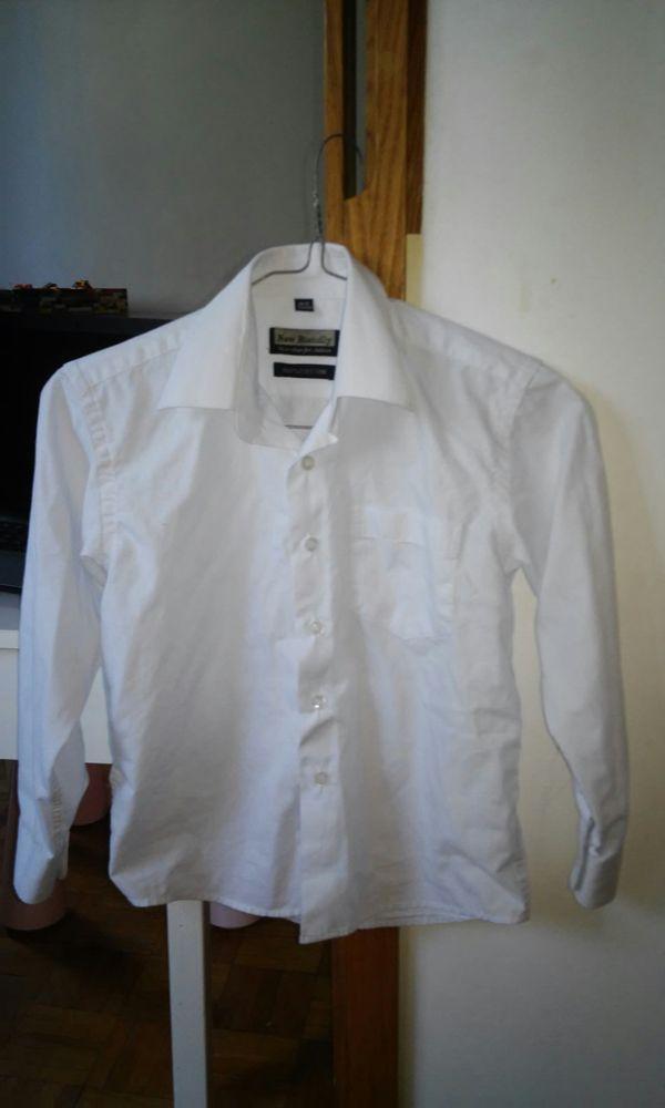 Biała koszula r. 128 134 koniec roku, święta, uroczystość  zpWzx