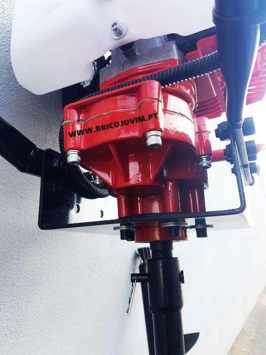 Perfurador de Solo / Brocadora 62cc + 3 brocas - Profissional - Novos Gondomar - imagem 7