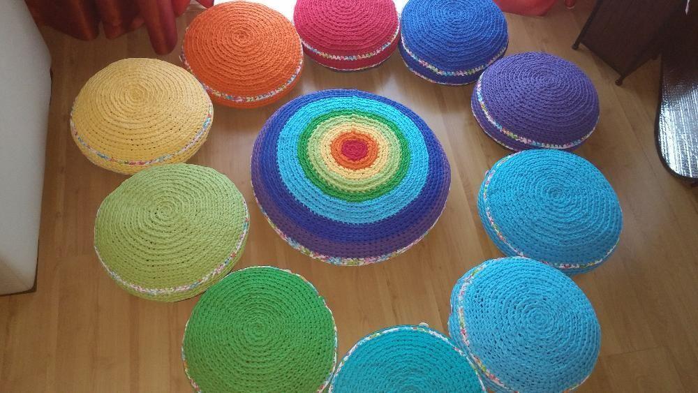 Almofadas de meditaçao faço personalizadas