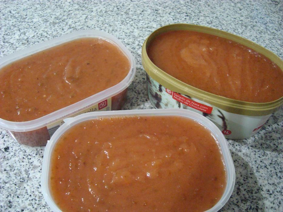 Marmelada caseira - embalagem com mais de 1kg
