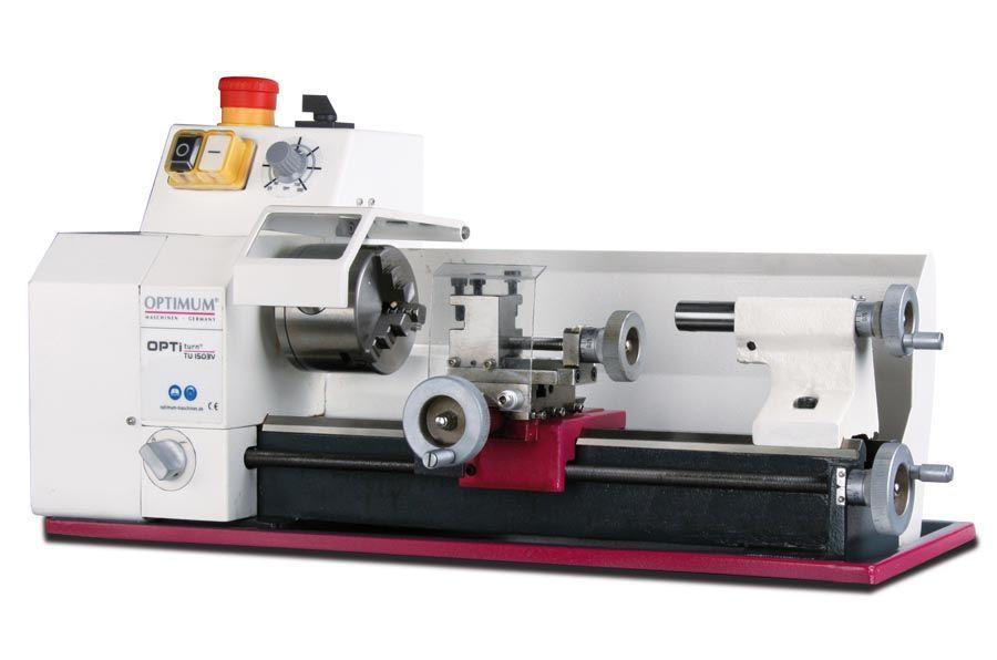 Torno mecânico OPTIMUM TU1503 fabrico alemão c/ variador