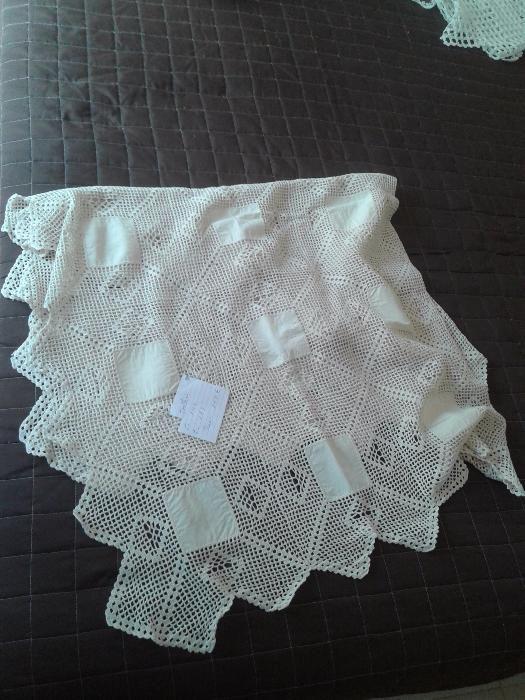 toalha renda