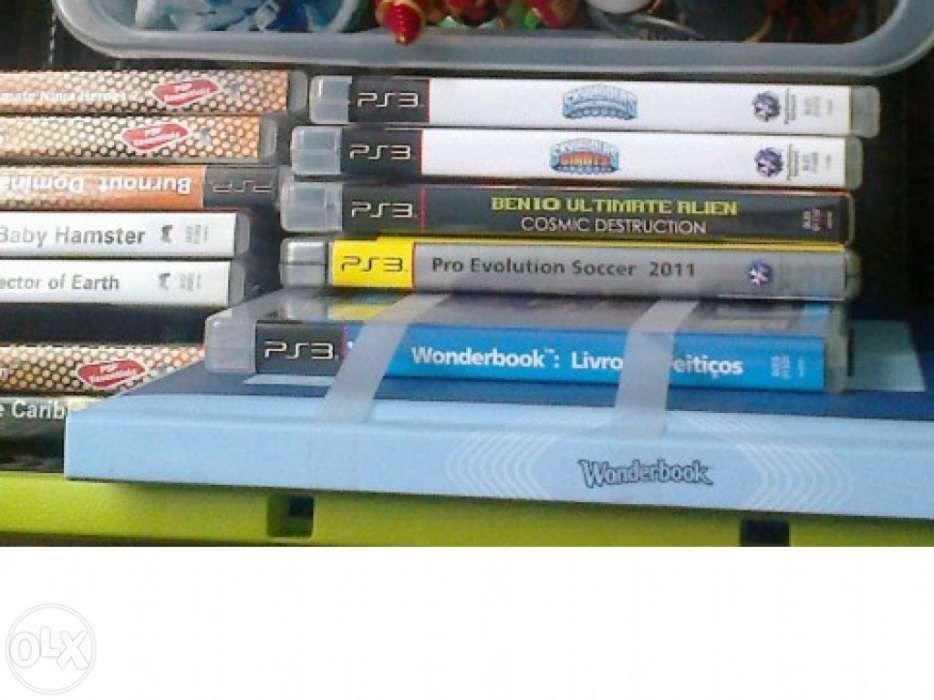 Lote de jogos para PS3 e PSP - BAIXA PREÇO