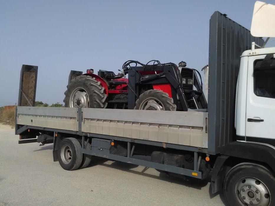 Transporte de tratores, alfaias agricolas e maquinas Coimbra - imagem 4