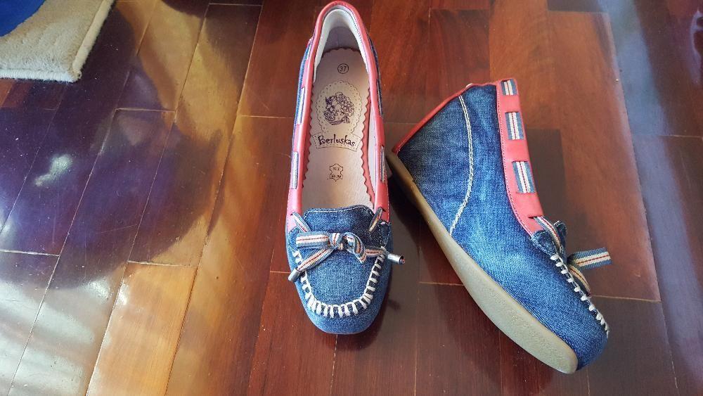 d7e40b8f3 Sapatos de ganga - Falagueira-Venda Nova - Sapatos de ganga, com um rebordo