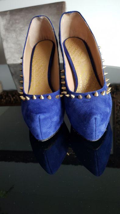 Sapatos Azuis Sahoco 37